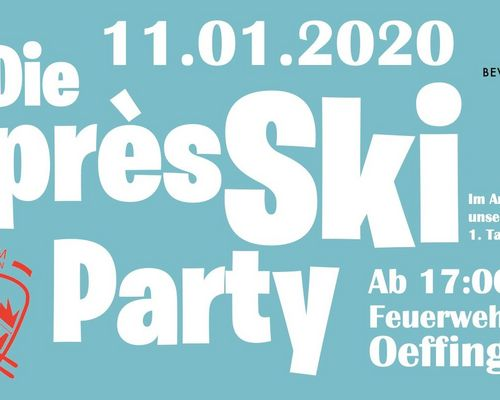 Après Ski Party am 11. Januar